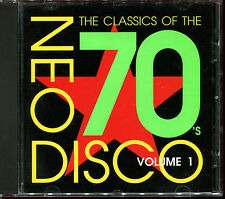 NEO DISCO VOLUME 1 - THE CLASSICS OF THE 70'S - CD COMPILATION [1252]