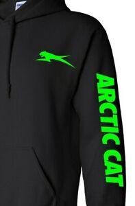 ARCTIC CAT SNOWMOBILE Hoodie ATV Hooded Sweatshirt FAST SHIP Choose Design Color