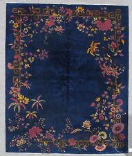an antique art deco chiese Rug. 9243     8.0x9.8