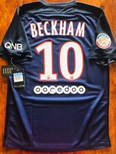 2015/16 NIKE PARIS SAINT-GERMAIN PSG #10 BECKHAM SOCCER HOME JERSEY MEDIUM