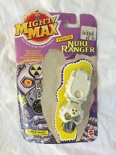 PAIR OF 1992 MIGHTY MAX HORROR HEADS MINI FIGURE PLAYSETS BLUE BOX TOYS + CARDS!