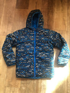 COLUMBIA REVERSIBLE Boys Winter Ski/Snowboard Jacket Sz XL (18-20)