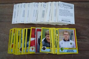 Panini Football 87 Stickers - VGC - no's 1-200 - Pick & Choose Stickers You Need