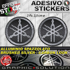 Adesivo / Sticker diapason logo YAMAHA R1 R6 FZ1 FZ6 MT 10 09 XT T MAX TENERE