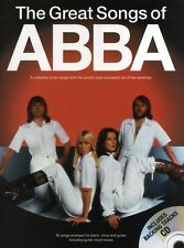 Great Songs ABBA Learn to Play WATERLOO PIANO Guitar PVG Music Book &CD