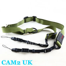 Carry Speed M-Sling Camera Sling Strap for Sony NEX PEN E NX FX Mirrorless green
