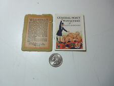 1914 Miniature Book GENERAL PERCY WIFFLETREE Maurice Brown Kirby WINTHROP PRESS