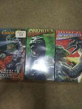 Terror of Mechagodzilla-Godzilla's Revenge-Godzilla vs. Mechagodzilla - VHS-New