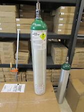 1 Oxygen  UN 1072 Compressed USP Cylinder EMPTY Tank Aluminum 680 Liters