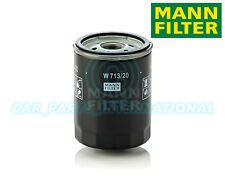 Mann Hummel repuesto de calidad OE Filtro de aceite del motor W 713/20