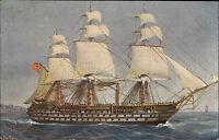 Schiffe ~1910 Marine Galerie Nr. 124 Schrauben-Dreidecker Duke of Wellington