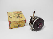 """Vintage Boxed Southbend Oren O Matic No 1140 - 3"""" Fishing Reel - Retaining Well"""