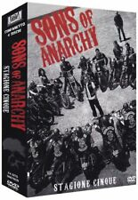 Sons of Anarchy - Serie Tv - Stagione 5 - Cofanetto Con 4 Dvd - Nuovo Sigillato
