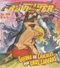 LA LEY DEL REVOLVER MEXICAN COMIC #209 MEXICO SPANISH SPICY HISTORIETA 1998 WEST