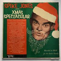 CHRISTMAS Spike Jones presents a Xmas Spectacular LP vinyl record 1956 VERVE
