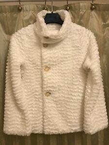 Patagonia Girl's Pelage Jacket Birch White XXL (16-18)