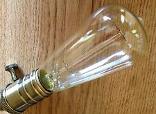 ST64 Vintage Edison style tungsten filament 40w bulb US-based