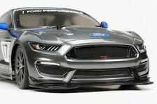 Tamiya 58664 Ford Mustang GT4 4WD RC Kit - DEAL BUNDLE w/ STEERWHEEL Radio