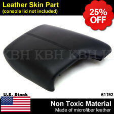 Leather Armrest Center Box Console Lid Cover for Honda Accord 2013-2017 Black