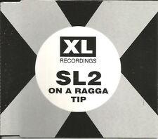 SL2 On A Ragga tip 4TRX ORIGINAL MIXES & EDIT Europe CD single SEALED USA Seller