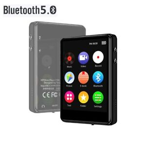 Player Mp3 Touch Screen Bluetooth Music Hifi Lossless Fm Sound Mp4 Portable 16gb