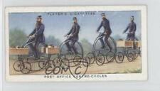 1939 Player's Cycling Tobacco Base #11 Post Office Centre-Cycles Card 0o9