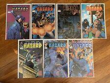 Hazard 1-7 Complete Set 1 2 3 4 5 6 7 Image Comics 1996