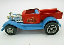 Vintage 1970s Tonka Scorcher - Blue and Red - Pressed Steel