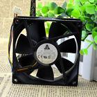 2 PCS DELTA AFC0912D Cooling Fan DC 12V 0.46A 92mm x 92mm x 25mm 4 WIRE