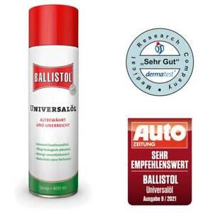 Ballistol Universalöl,  Pflegeöl,  Waffenöl  400ml  -Spray- / 21810