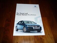 VW Passat BlueMotion Prospekt 05/2007