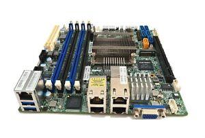 Supermicro X10SDV-8C-TLN4F Intel Xeon D-1541 PCIe x16 m.2 IPMI ITX DDR4 Server