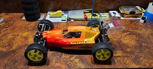 Vintage Shelf Queen - Team Losi XX4 Graphite - JRX-Pro - RC10CE - Schumacher Cat