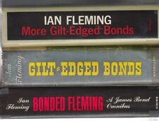 Ian Fleming THREE EARLY JAMES BOND OMNIBUS BONDED FLEMING GILT-EDGED BONDS MORE