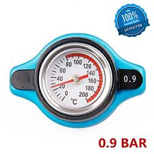 0.9Bar Thermo Thermostatic Radiator Cap Cover Water temperature Gauge