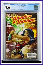 Wonder Woman #19 CGC Graded 9.6 DC June 2008 White Pages Comic Book.