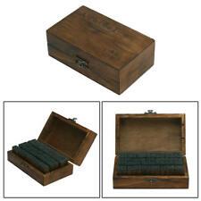70Pcs/set Alphabet Letter Number Wood Rubber Stamps Set Wooden Box Newest Useful