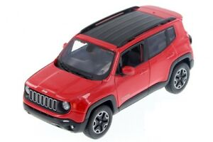 Maisto 1:24 Scale 2017 Red JEEP Renegade Jeep SUV Vehicles Car Model Toy Gift