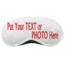 Customize / Personalize Your Photo Printed Sleeping Mask / Eye Mask Rare!
