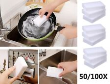 100/50X Magic Sponge Eraser BULK PACK Melamine Cleaning Foam 3/4