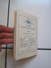 JACQUETTE LES ALBUMS DE TINTIN /  LA COMTESSE DE SEGUR  / APRES LA PLUIE LE BEAU
