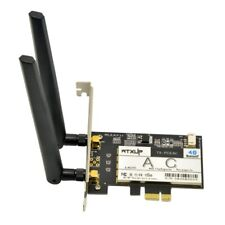 Intel 7260 Dual-Band 802.11ac 867Mbps + Bluetooth 4 PCIe Desktop Wifi Card WTXUP