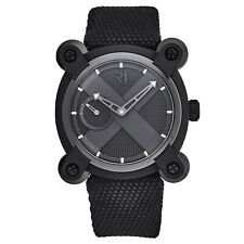 Romain Jerome Men's Moon Invader Fabric Strap Automatic Watch RJMAUIN.020.02