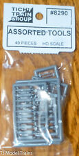 Tichy Train Group HO #8290 Assorted Tools -- 49 Pieces (unpainted)