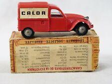 Norev n° 16 Citroën 2 CV commerciale CALOR en boîte 1/43