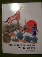 2 Paul Goble Hardcovers ~ The Girl Who Loved Wild Horses & Crow Chief