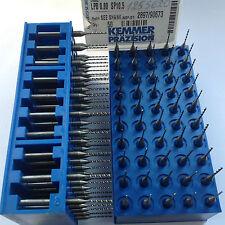 10PCS MICRO DRILL KEMMER CARBIDE CNC PCB Ø0,8mm-BOHRER;FORET;PUNTE;La BROCA-GERM