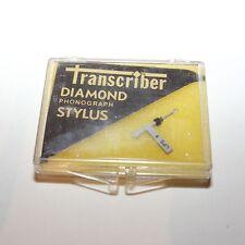 Transcriber #98 Diamond Phonograph Stylus Needle - Tetrad 53D