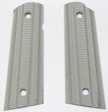 VZ Grips AI-SG-SQ-A Alien Steel Gray 1911 Full Size Ambi Safety Magwell Cut