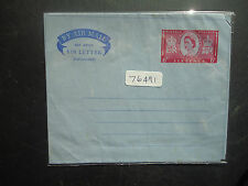 Great Britain 1954 6d QE2 Airmail Air Letter Unused